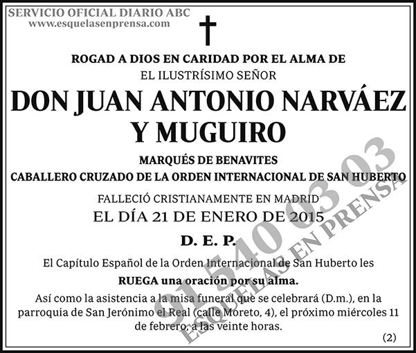 Juan Antonio Narváez y Muguiro